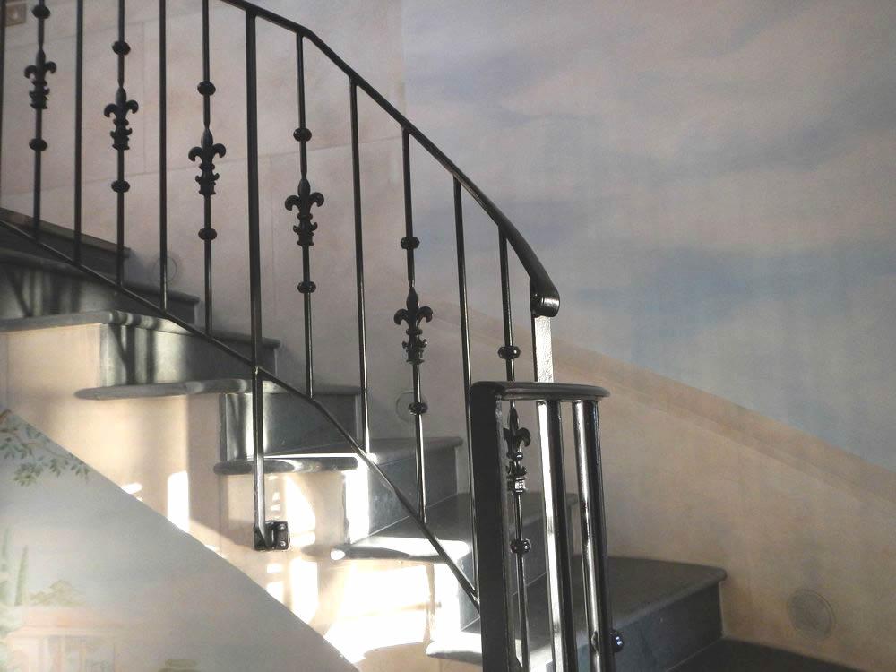 Banister, handrails